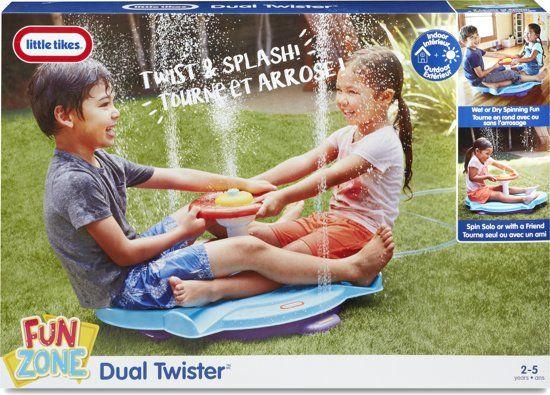50% korting   Little Tikes Dual Splash Twister - Waterspeelgoed (i.p.v. €49,99) @Bol