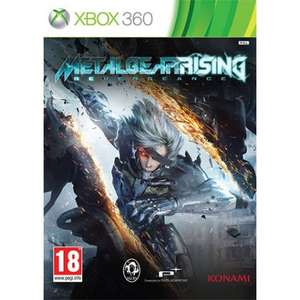 Metal Gear Rising: Revengeance (Xbox 360) voor € 9,38 @ The Game Collection