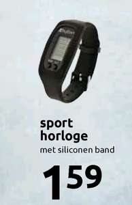 Budget sport horloge