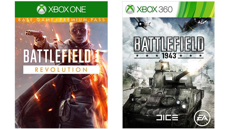 Battlefield 1 Revolution + Battlefield 1943 (XB1) digitale code voor €2,79 @ CDkeys