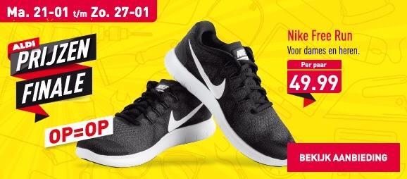 Nike free run voor dames en heren