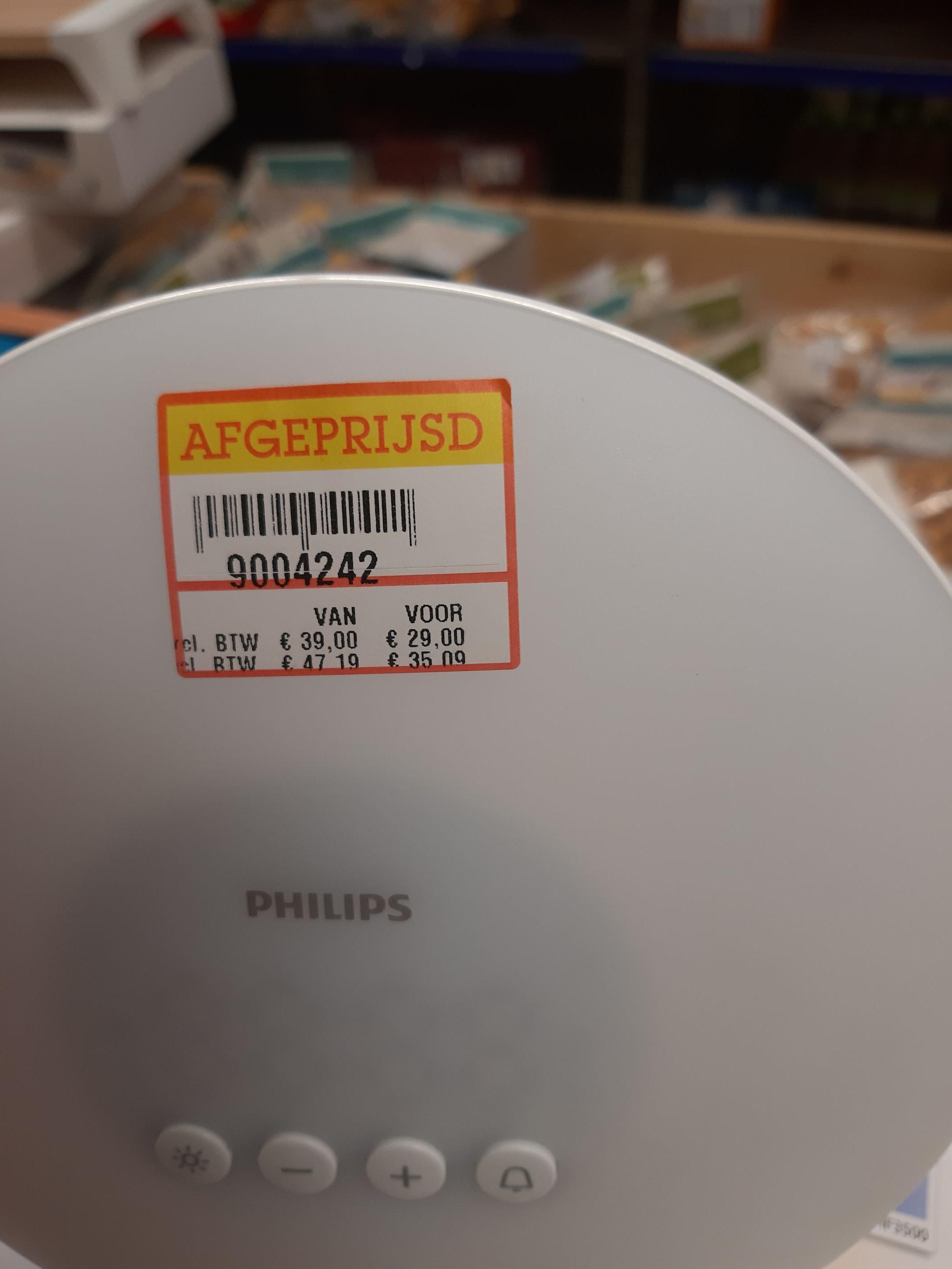 Philips wake up lamp HF3500 @ Makro (Hengelo)