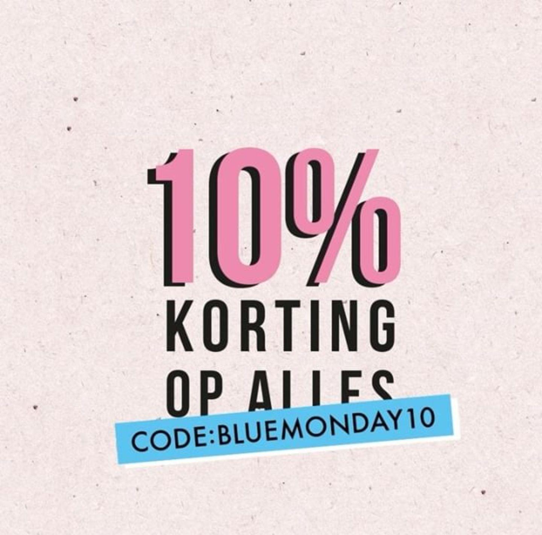Blue Monday actie: 10% korting op alles (ook op sale) @ MyJewellery