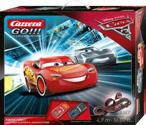 59% korting | Disney Cars 3 Finish First! - Racebaan (i.p.v. €74,99) @Bol