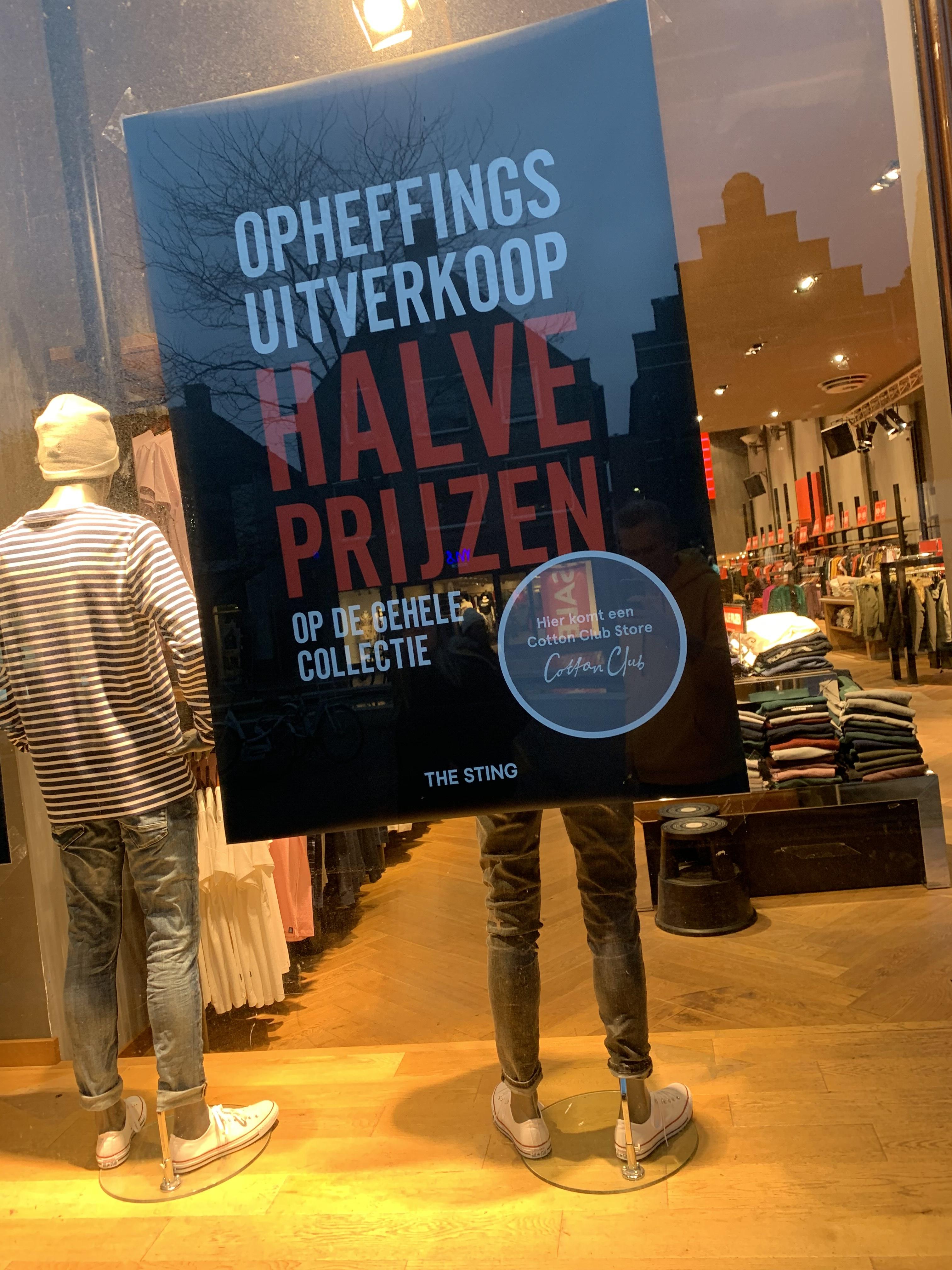 The Sting Hoogeveen 50% Korting Op Alles!