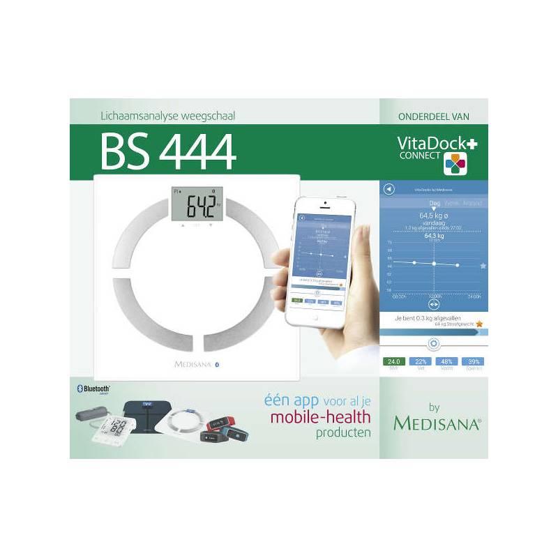 Medisana BS444 connect bluetooth weegschaal