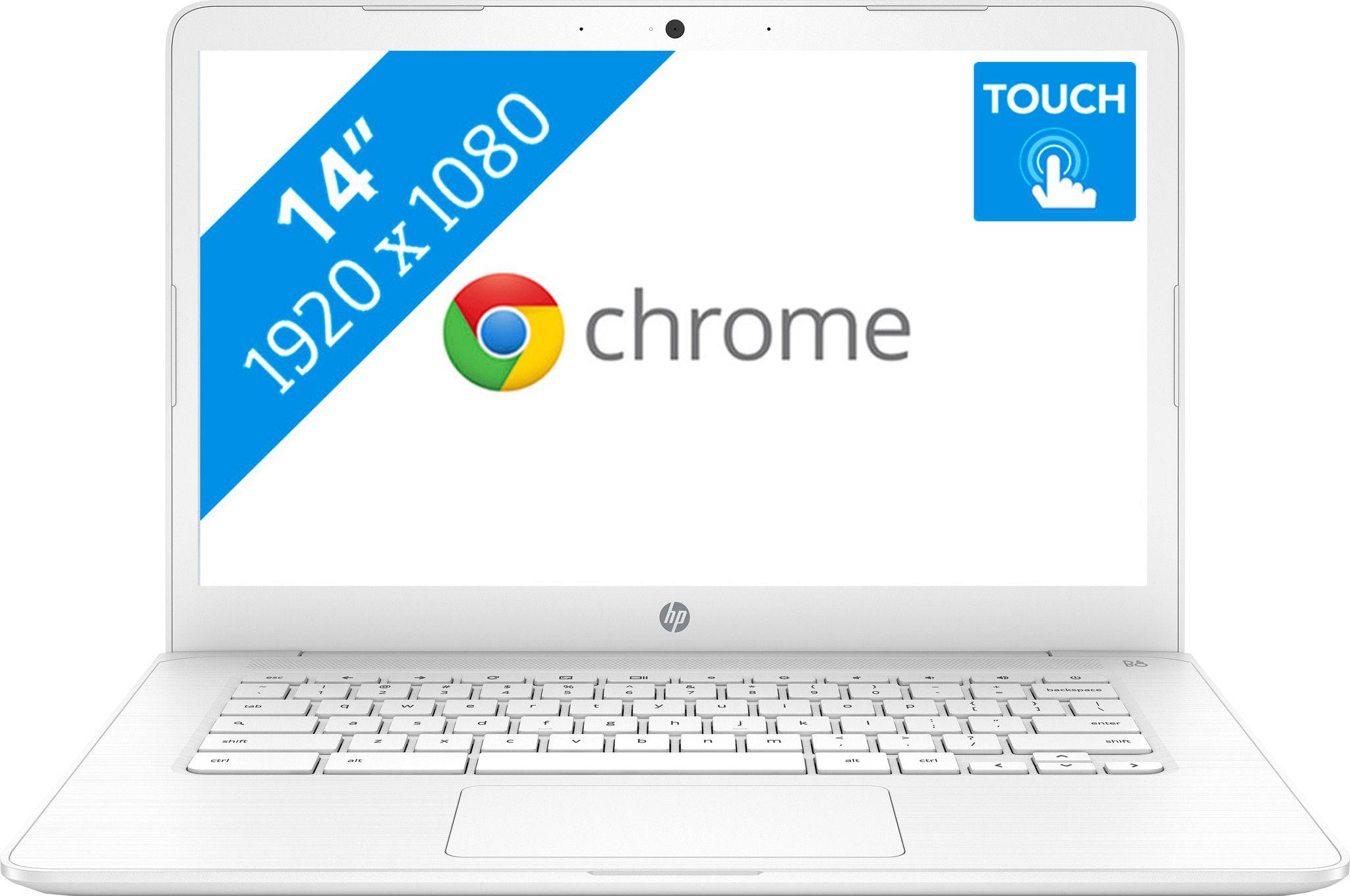 HP Chromebook 14-ca040nd  Met touchscreen @coolblue