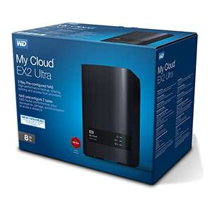 Western Digital NAS My Cloud EX2 Ultra 8TB - 22% lager in prijs