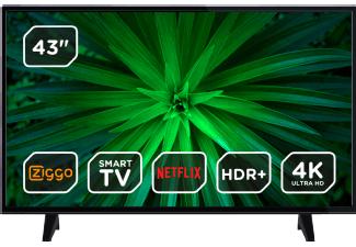 OK. ODL43740U-DIB 43-inch HDR 4K-tv voor €302,40 @ MediaMarkt