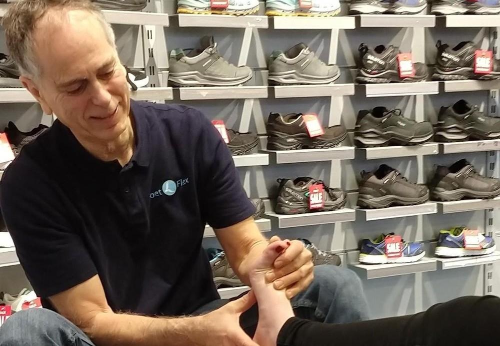 VoetFlex verzorgt gratis voetscreening bij Intersport Drachten