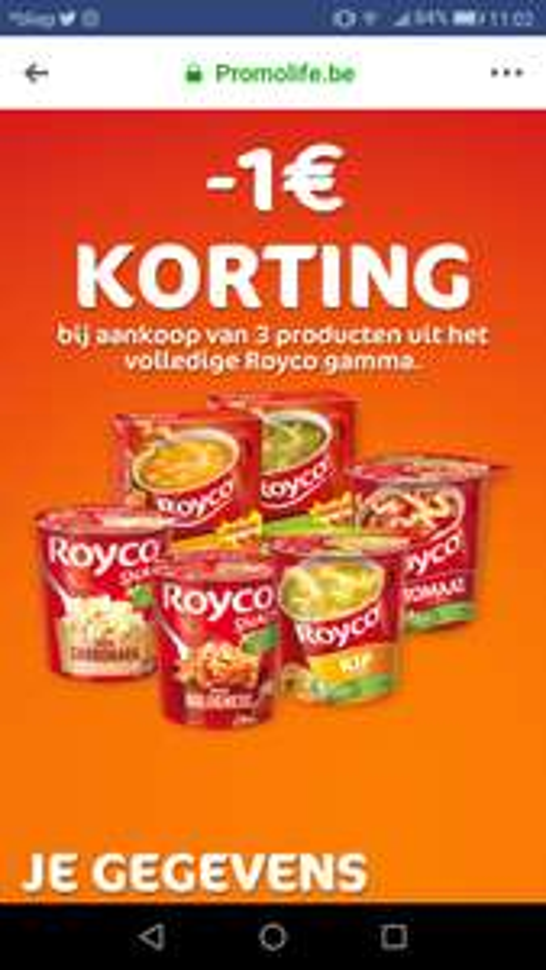 [Grensdeal België] Royco soep voor €0,41 ipv €1,98