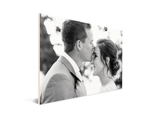 Foto op hout 40x60 cm voor maar € 9,95