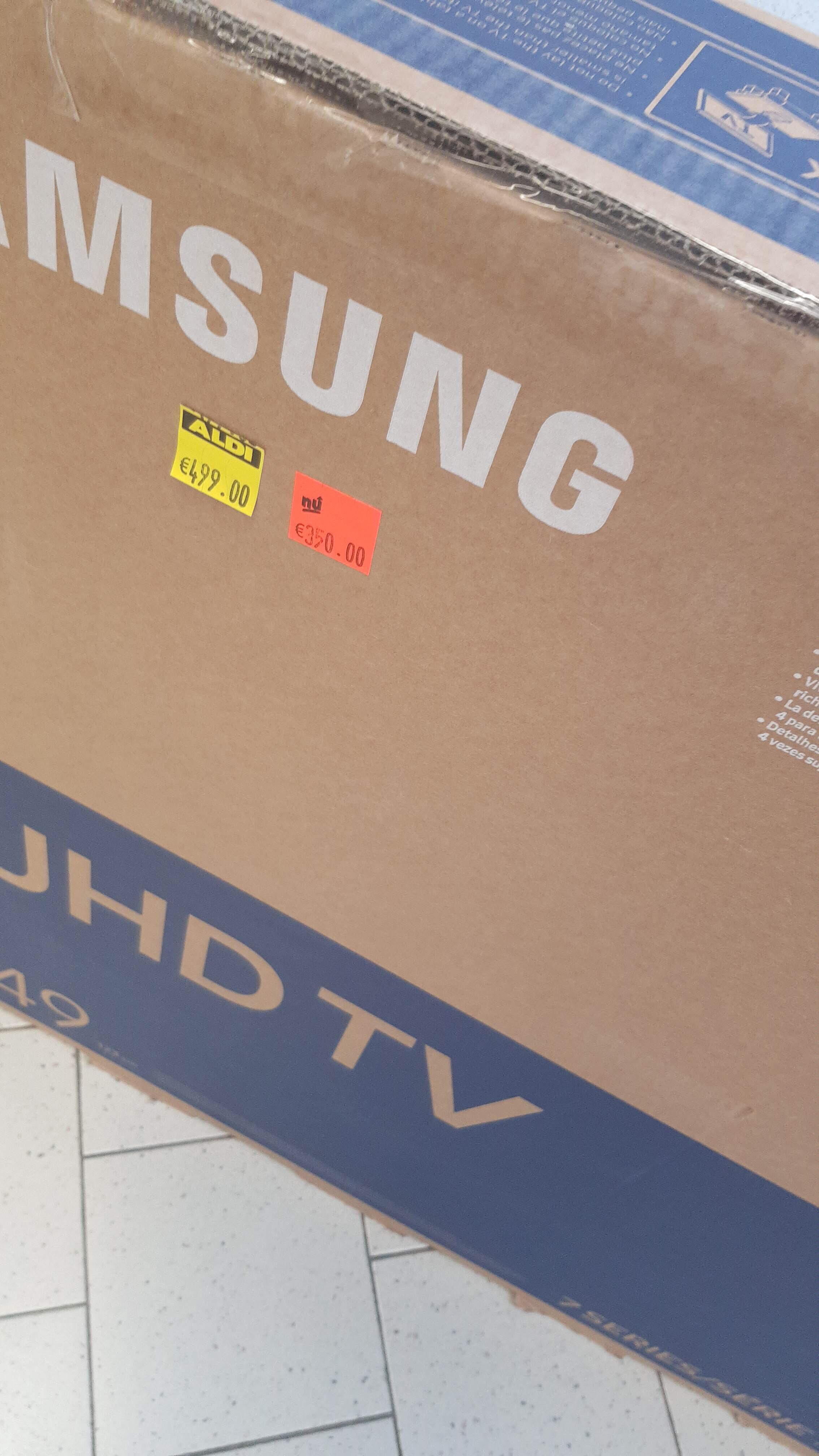 Samsung ue49nu7100 4K tv