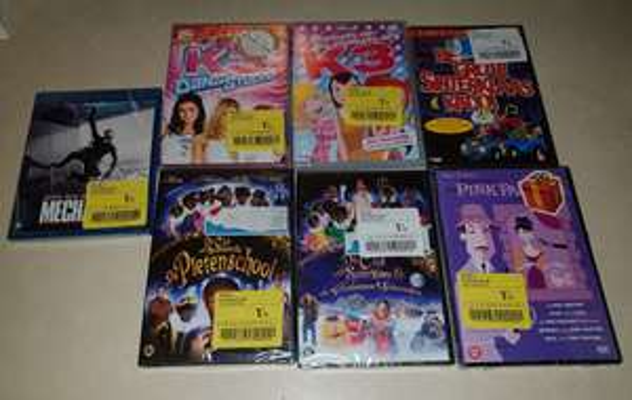 [BE] Hyper Carrefour Zemst - DVD's en Blurays aan €1