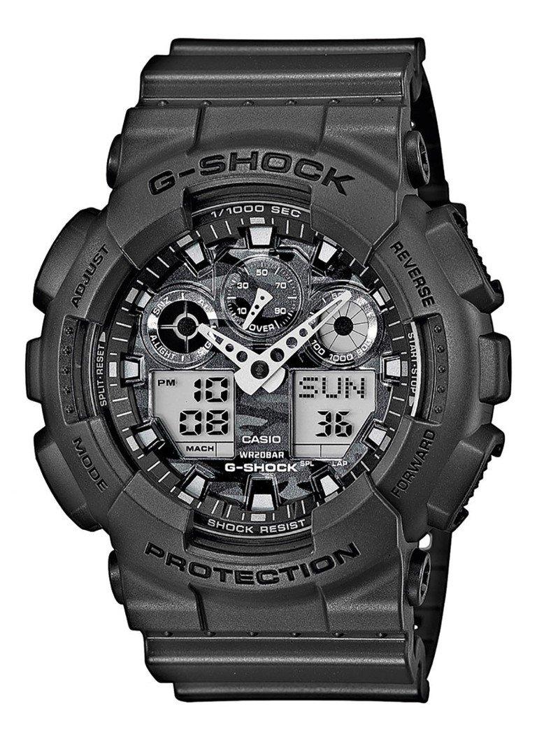 G-Shock GA-100CF-8AER horloge voor €38,70 @ de Bijenkorf