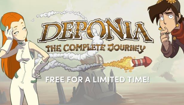 Deponia: The Complete Journey gratis bij de Humble Store (Steam)