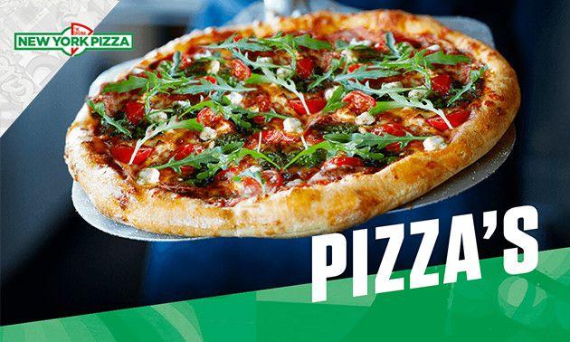New York Pizza met blikje drinken voor €1 in Friesland
