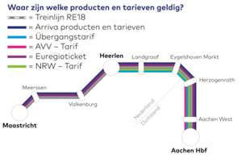 Gratis reizen tussen Maastricht en Aachen met de nieuwe sneltrein RE18 (za. 16 feb)