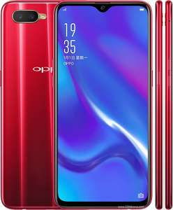Oppo rx17 neo mocca red of zwart