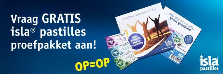 Gratis isla pastilles proefpakket @ kruidvat.nl