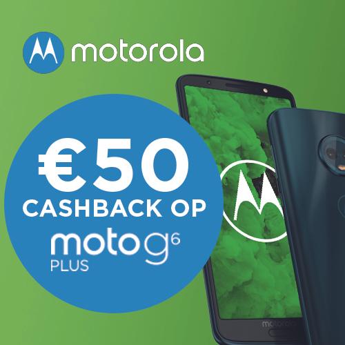Motorola Moto G6 Plus blauw incl. cashback