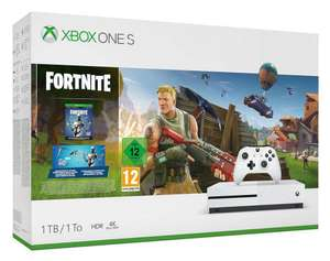 Xbox One S console 1 TB + Fortnite + 2.000 V-bucks (t.w.v. 20 euro) @Amazon.fr