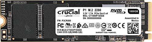 Crucial P1 1TB m.2 NVMe SSD