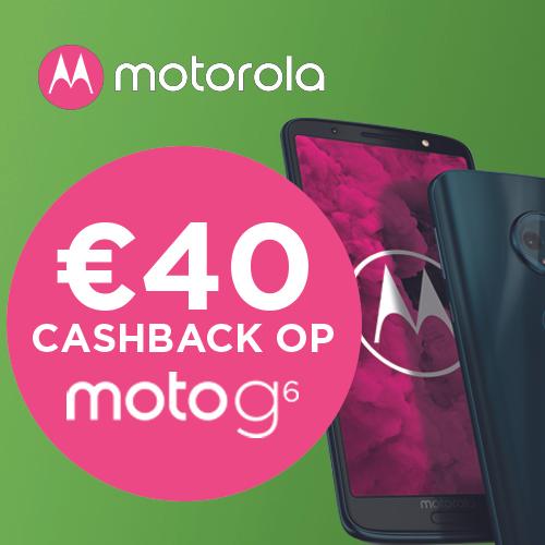 MOTOROLA Moto G6 32GB Dual-sim Blauw