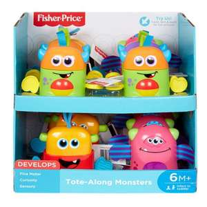 40% korting | Fisher-Price - Mini monsters (i.p.v. €7,99) + gratis verzending @Hudson'sBay