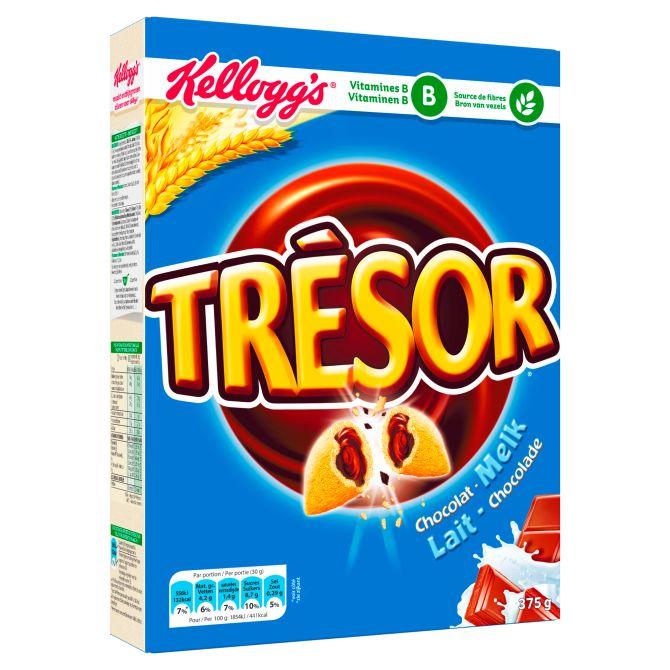 Kellog's Tresor van €3,44 voor €1,99 @Coop en @Emté