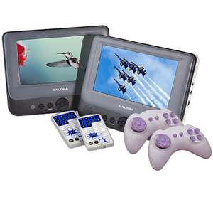 Salora DVP7748DUO + 2 Gamecontrollers voor €119,99 @ Coolblue