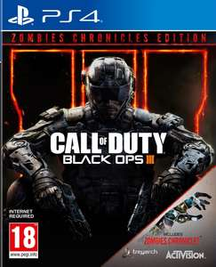 Call of Duty Black Ops 3 Zombie Chronicles PS4 voor €39,99 @ Nedgame.nl