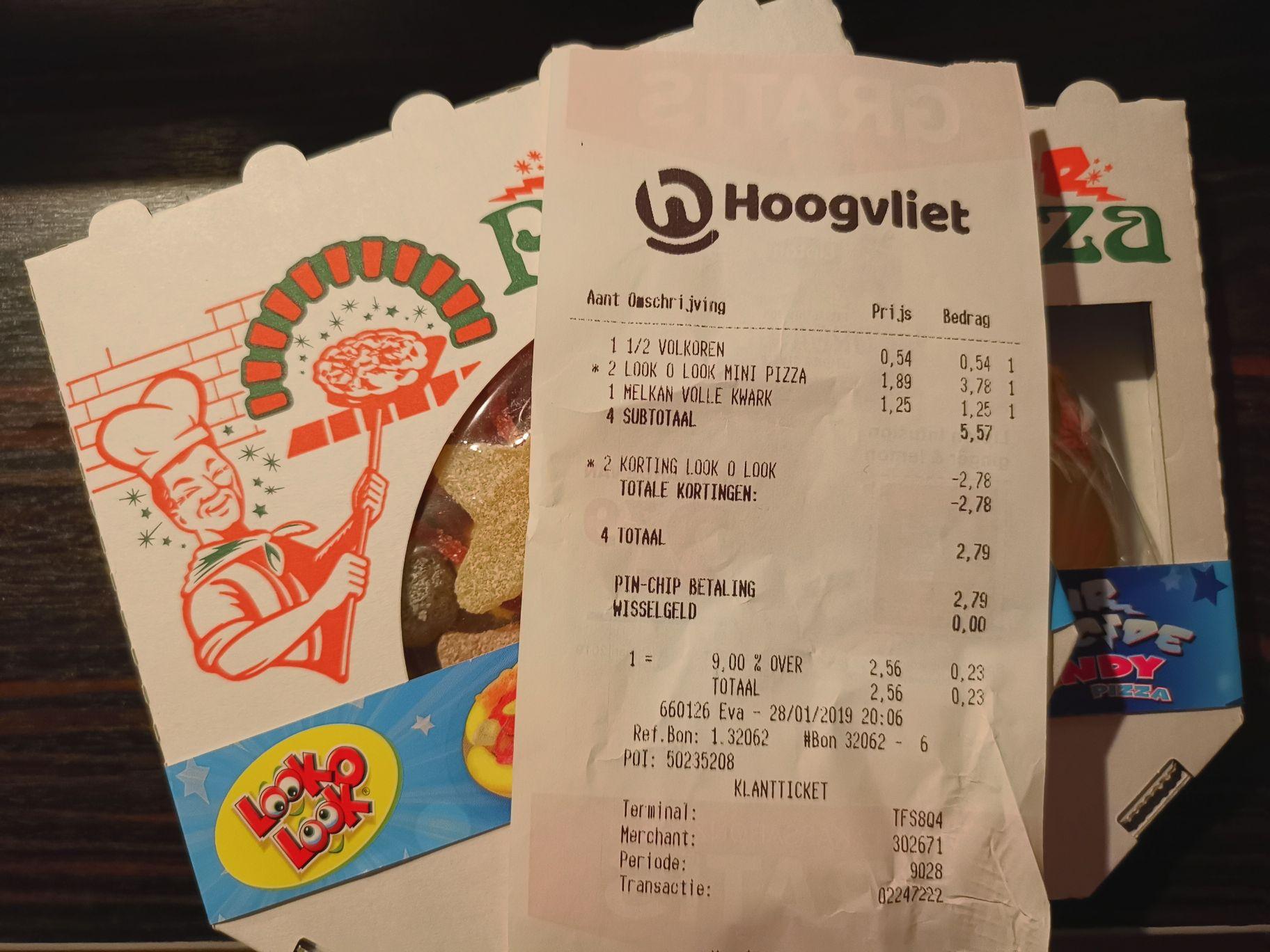 Look O Look mini pizza zuur 2 stuks - Lokaal???