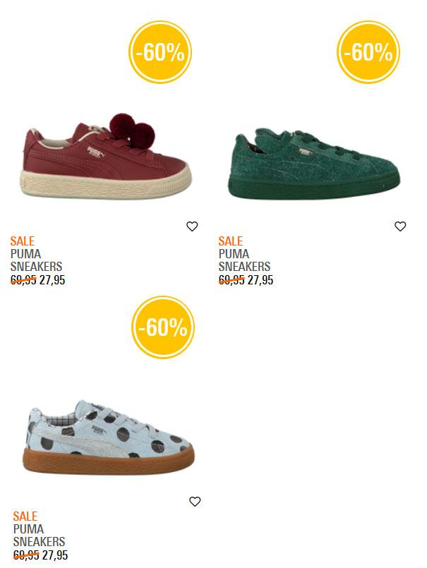 Puma X Tiny Cottons sneakertjes -60% (laatste kleine(re) maatjes) @ Omoda