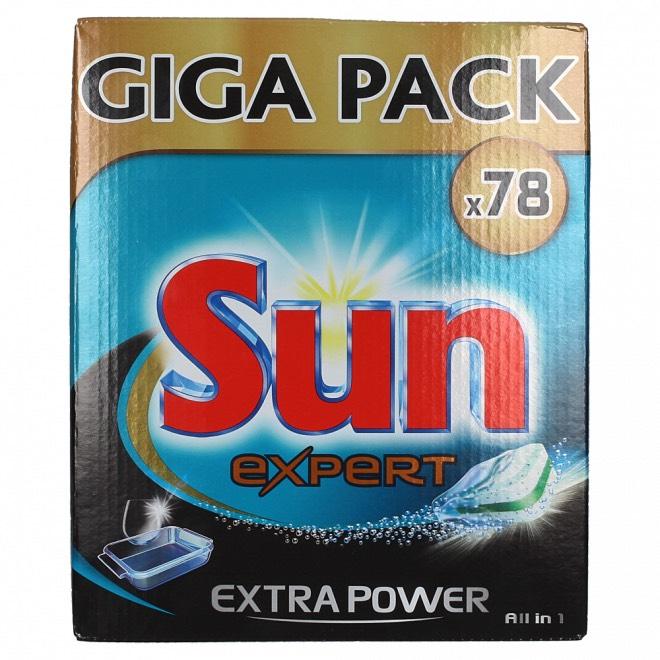 1+1 gratis Sun expert extra power (156 stuks) @opisop
