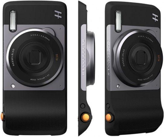 Motorola Moto Mod digitale camera van Hasselblad met 10x optische zoom