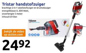 Tristar 2-in-1 stofzuiger 600 watt @ Action