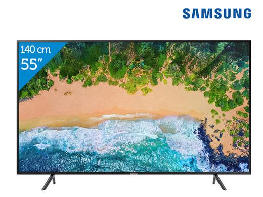 """Samsung 55"""" UE55NU7100 4K Smart TV, ook 50"""" en 43"""", echter dan goedkoper"""
