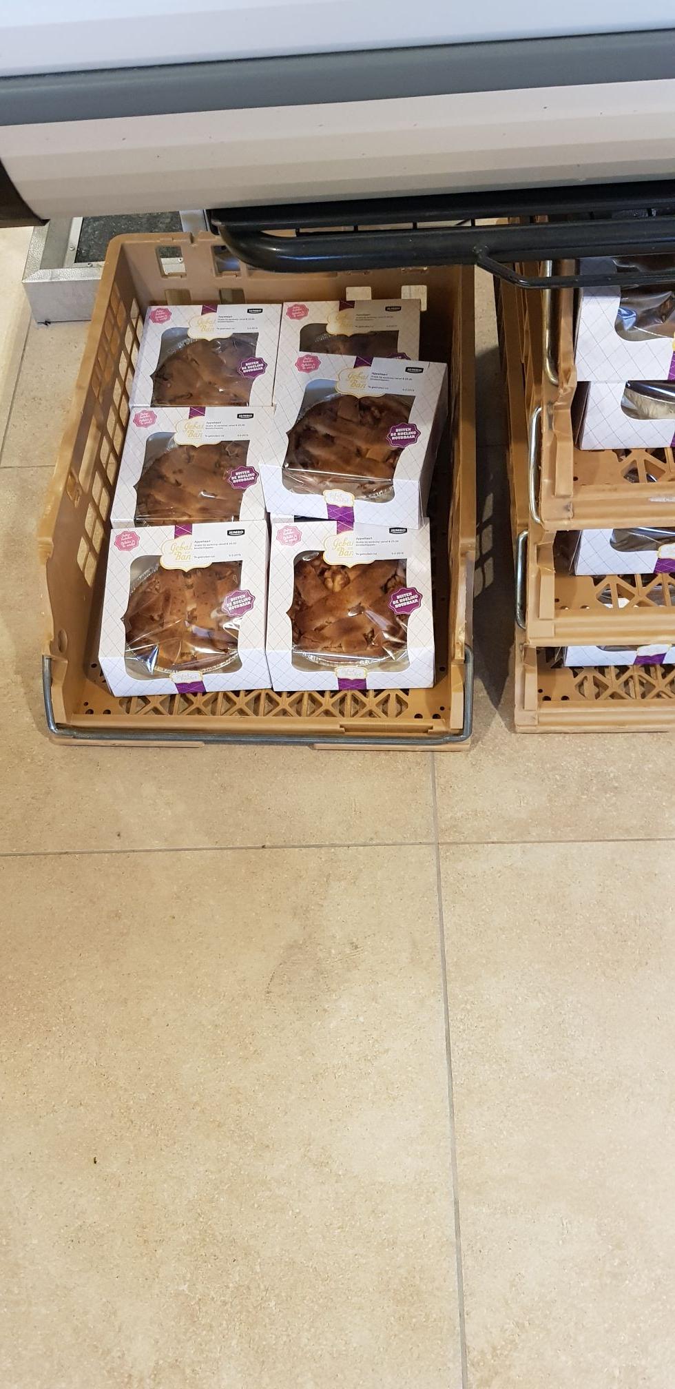Gratis taart vanaf 25 euro aan boodschappen @jumbo zeist