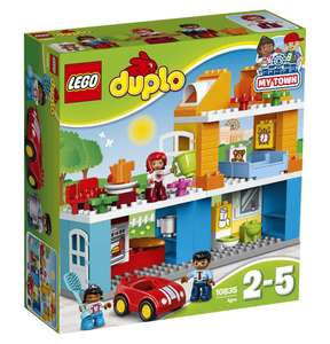 47% korting   LEGO® DUPLO® Familiehuis (i.p.v. €39,99) + gratis verzending @Hudson'sBay
