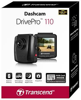 Transcend DrivePro 110 met Suction Mount voor €59 @ CameraNu