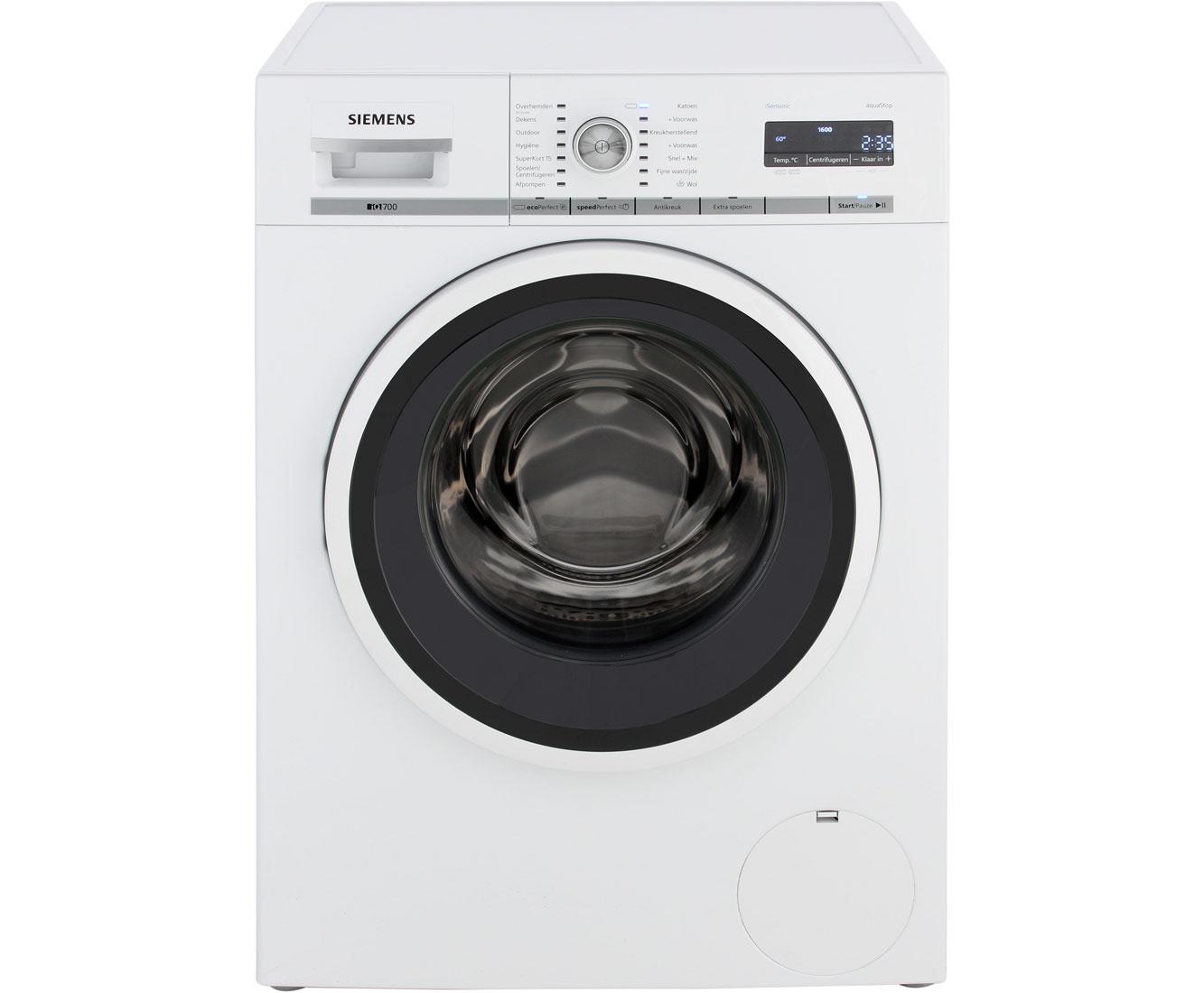 [PRIJSFOUT?] Siemens iQ700 WM16W461NL Wasmachine voor €284 na cashback @ AO.nl