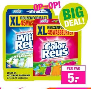 Witte Reus XL / Color Reus XL bij Big Bazar