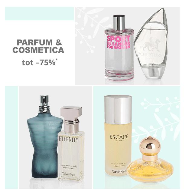 Parfum & cosmetica sale met tot 75% korting @ Limango
