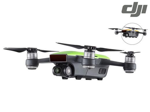 Groene DJI Spark Drone (Fly More Combo)