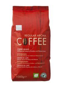 2 KG koffiebonen van 13 euro voor 10,50 bij HEMA