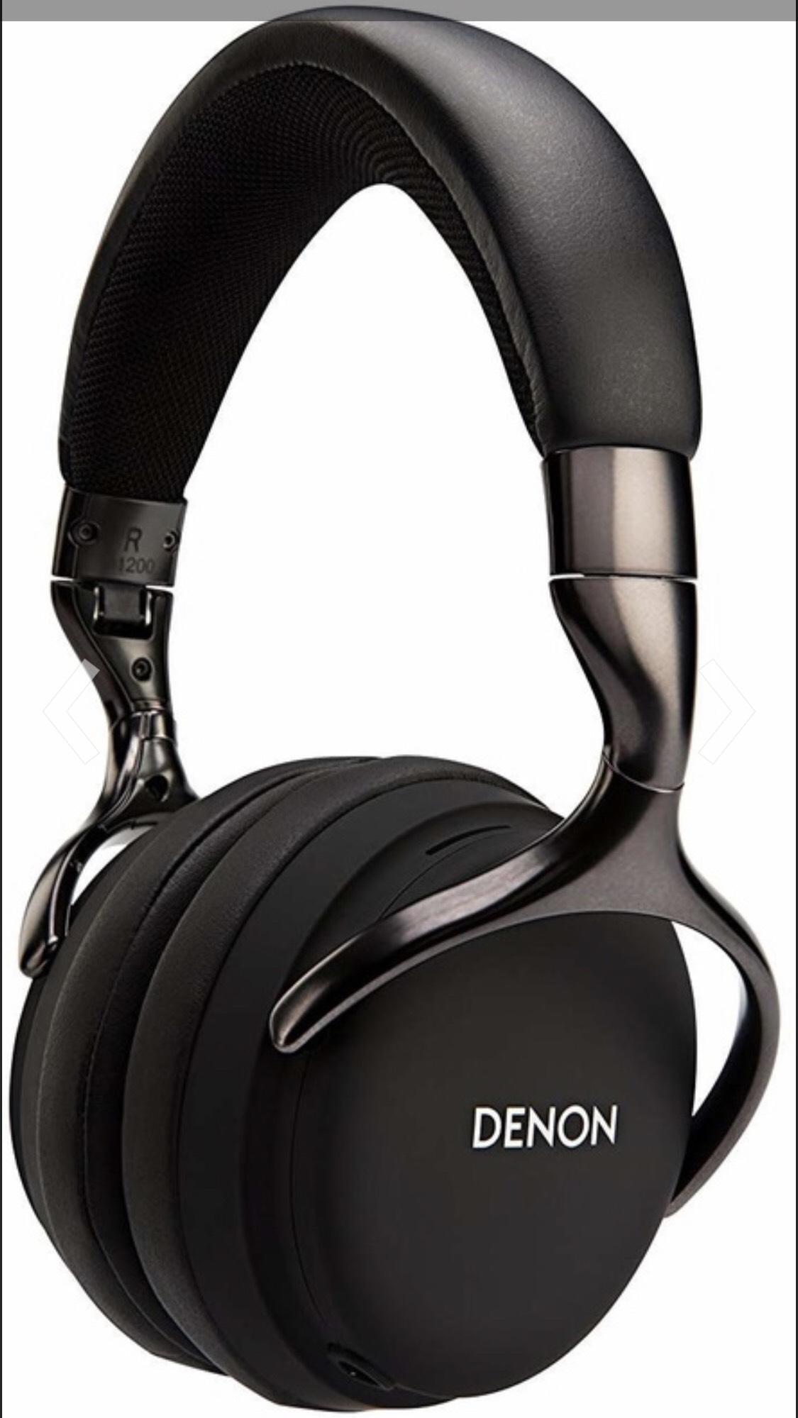 Denon AH-d1200 over Ear hoofdtelefoon Zwart