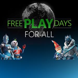 [Xbox One] Xbox Live Free Play Days: gratis online spelen zonder abonnement
