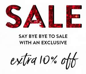 Sale tot -70% + 10% extra met code @ OU. Boutique Stores
