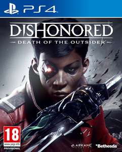 PS4 Dishonored (Death of the outsider)